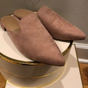 Target blush a new day mules